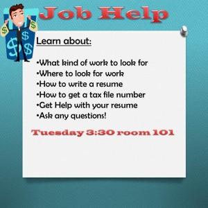 Job Help @ Room 101