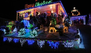 Christmas lightening competition
